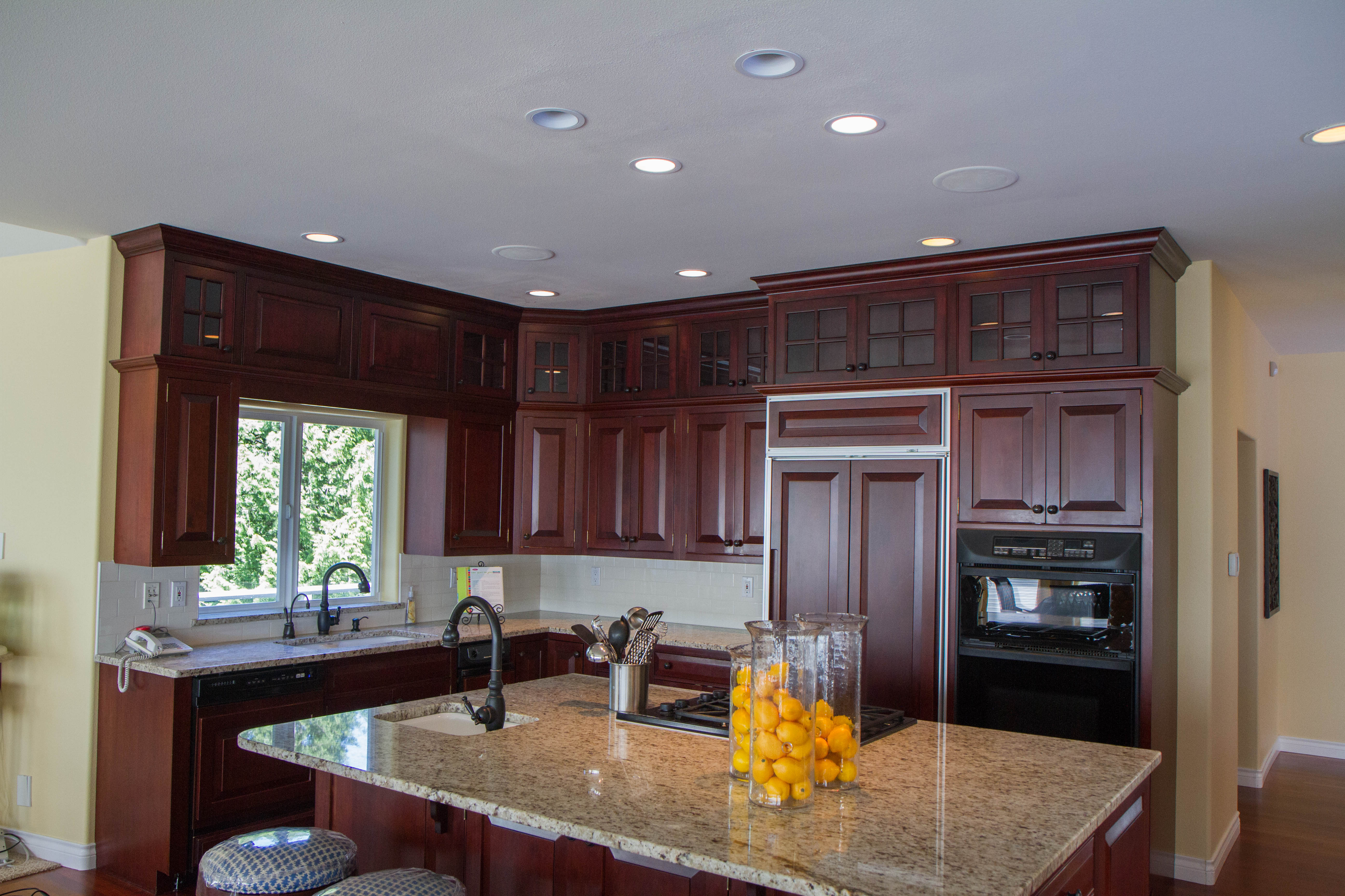 adding kitchen cabinets above existing cabinets | My Web Value